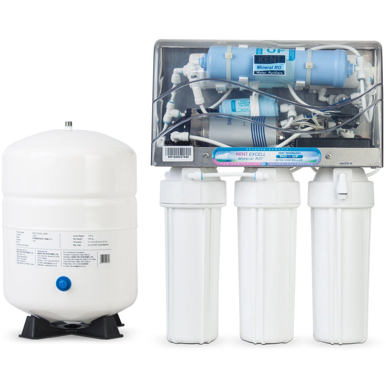 دستگاه تصفیه آب زیر سینکی کنت مدل Excell