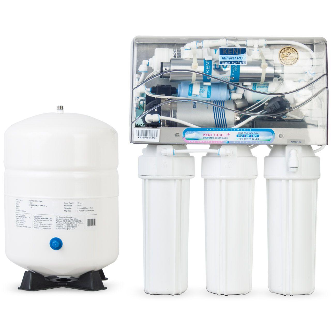 دستگاه تصفیه آب خانگی کنت (Kent) مدل Excell Plus