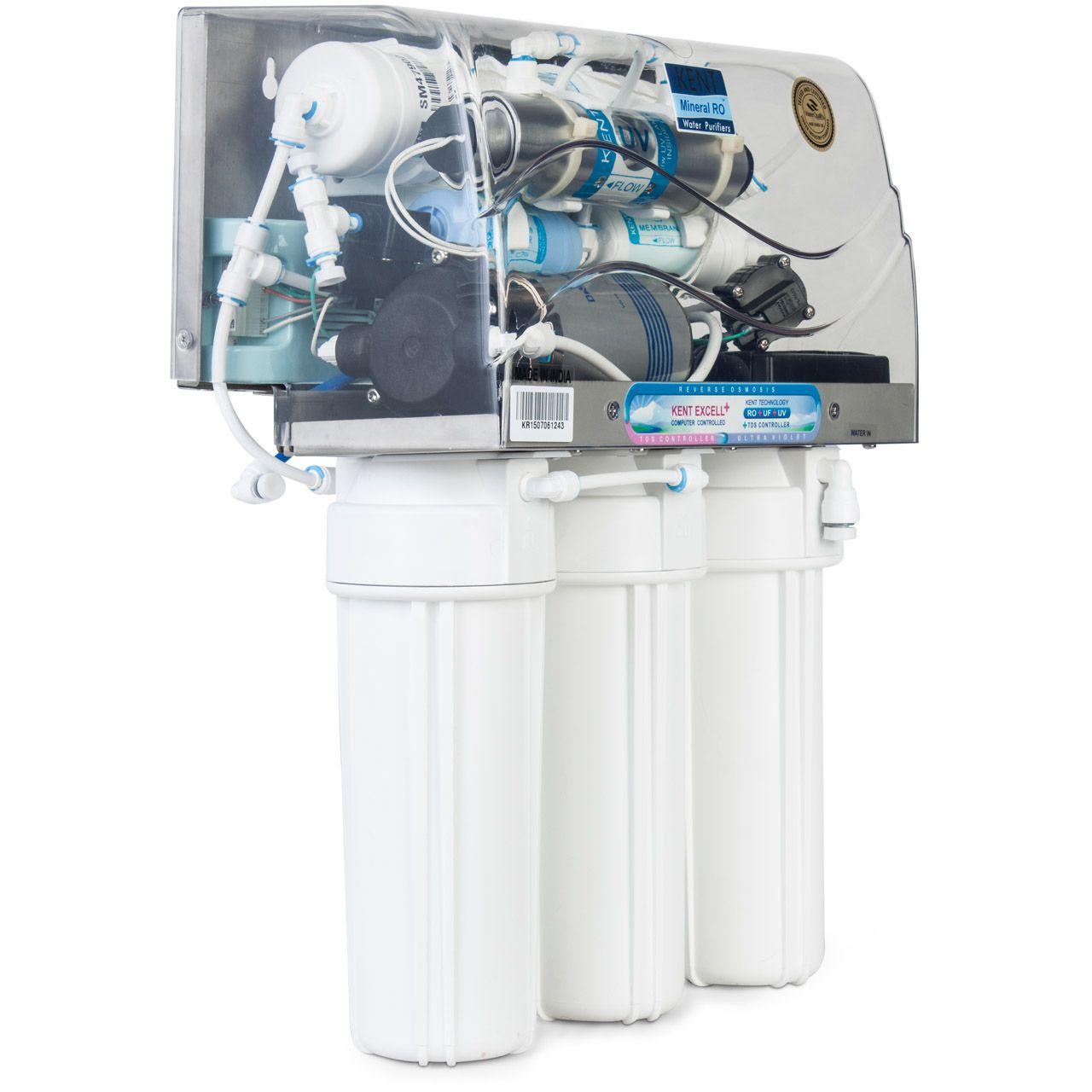 دستگاه تصفیه آب زیر سینکی کنت مدل اکسل پلاس (Kent Excell Plus)