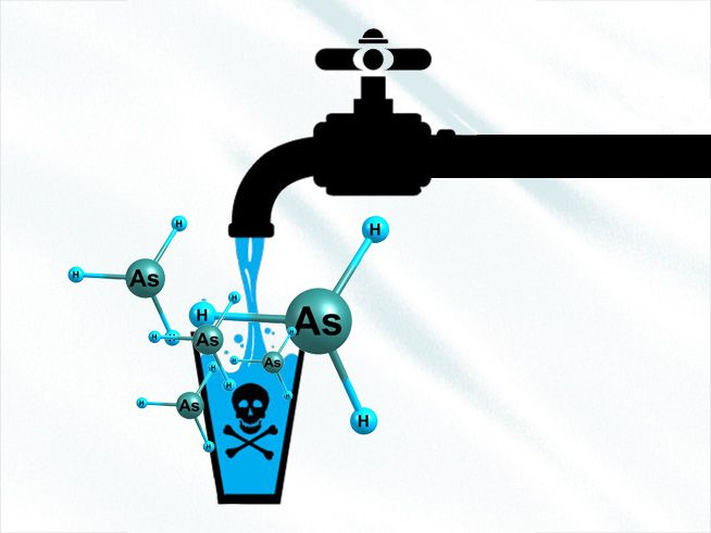 خطرات مهم وجود سم آرسنیک در آب آشامیدنی
