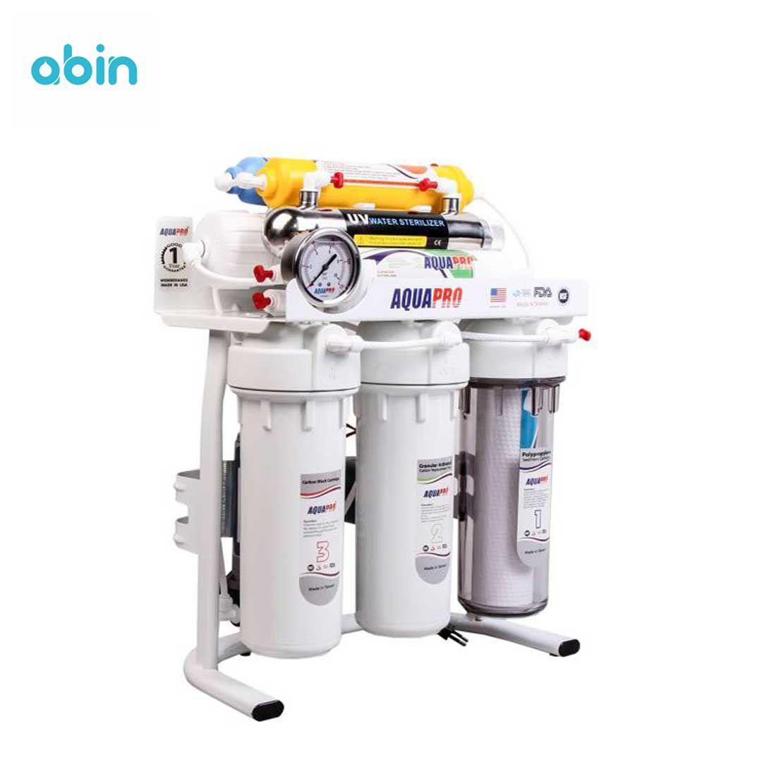 دستگاه تصفیه آب آکوا پرو مدل RO8-ORP-UV