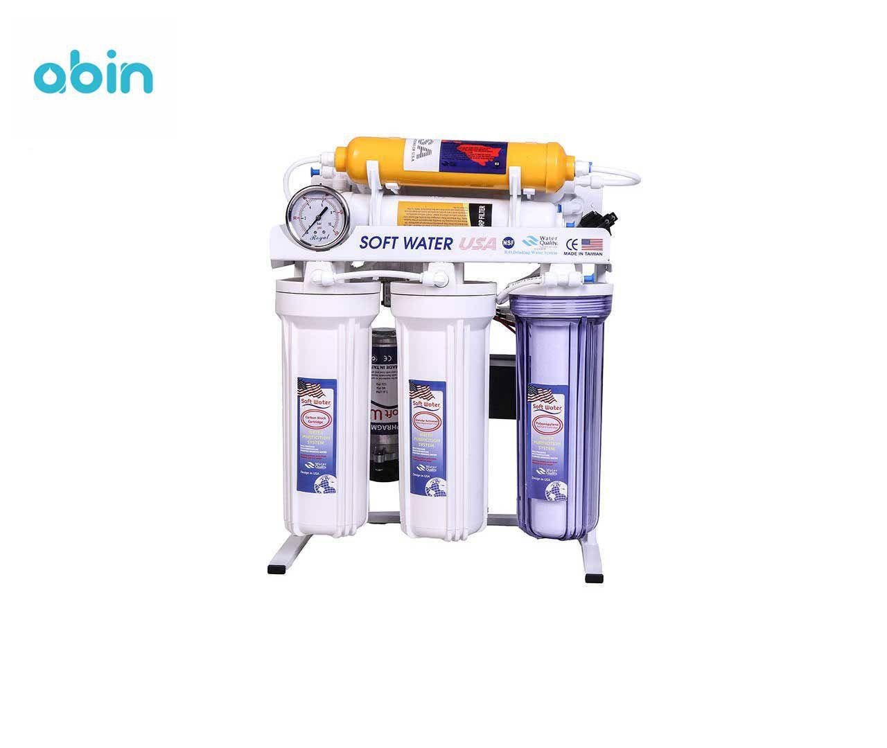 دستگاه تصفیه آب سافت واتر مدل RO7-orp