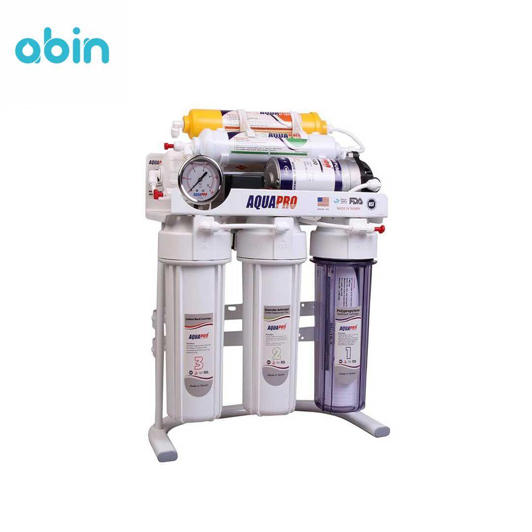 دستگاه تصفیه آب خانگی آکواپرو مدل RO6- P UP