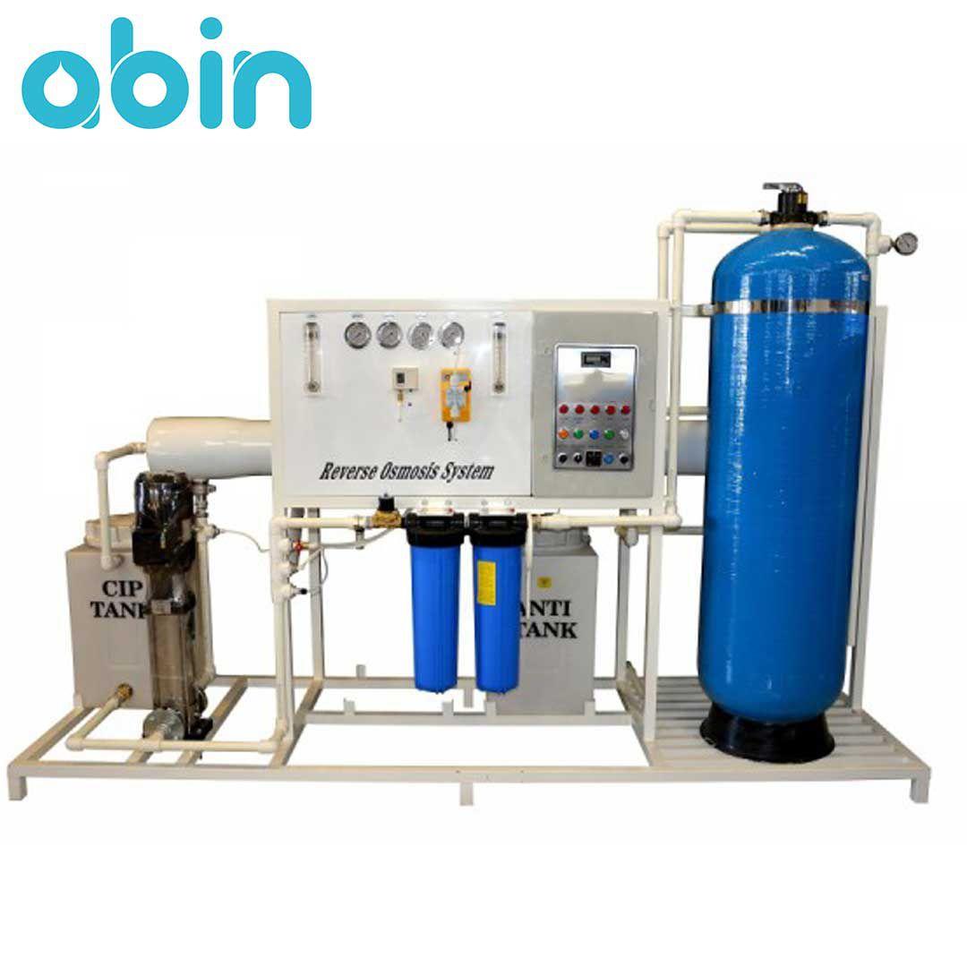 دستگاه تصفیه آب صنعتی 50 متر مکعب