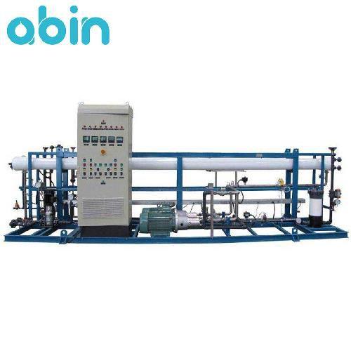 دستگاه تصفیه آب صنعتی 75 متر مکعب
