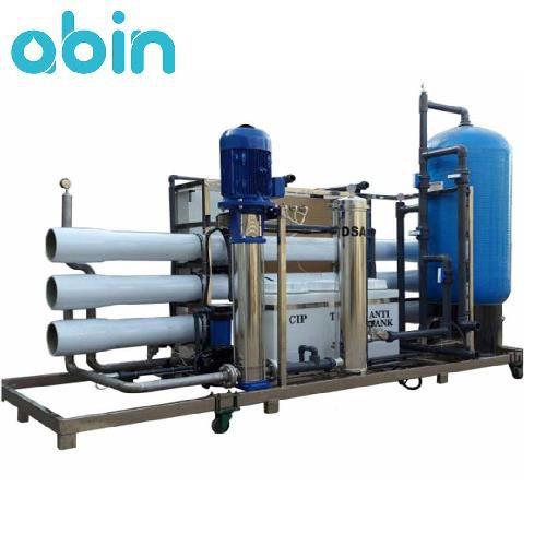 دستگاه تصفیه آب صنعتی با ظرفیت 250 متر مکعب