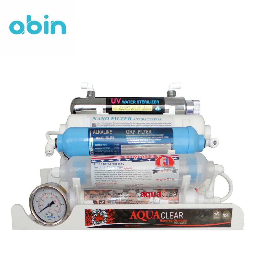 دستگاه تصفیه آب 10 مرحله ای آکوا کلیر مدل RO-CNX 2018