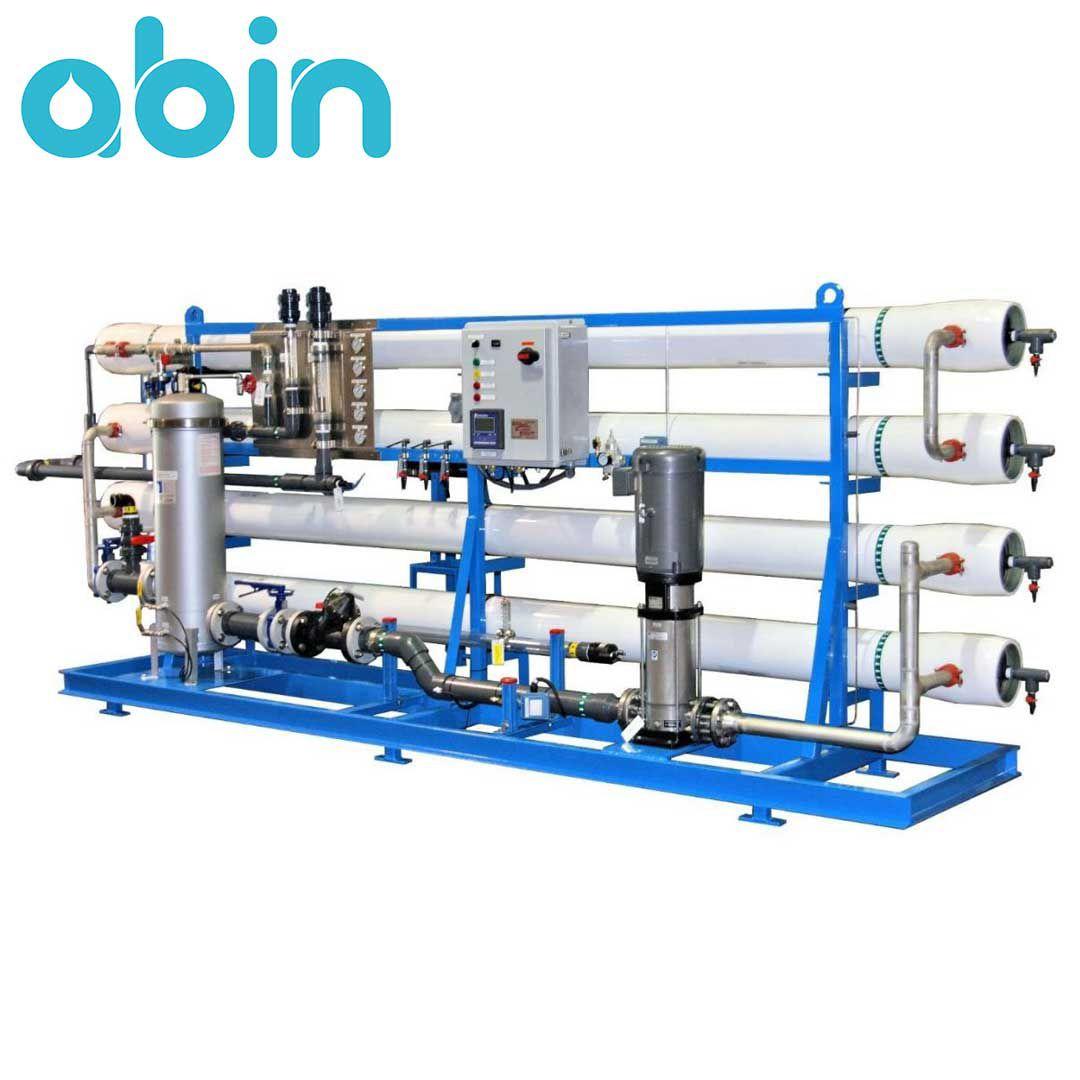 دستگاه تصفیه آب صنعتی 300 متر مکعب