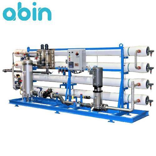 دستگاه تصفیه آب صنعتی 350 متر مکعب