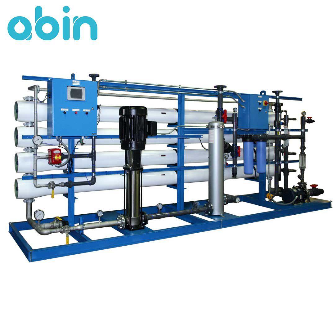 دستگاه تصفیه آب صنعتی با ظرفیت 400 متر مکعب