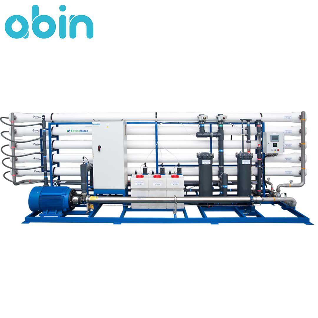 دستگاه تصفیه آب صنعتی 500 متر مکعب