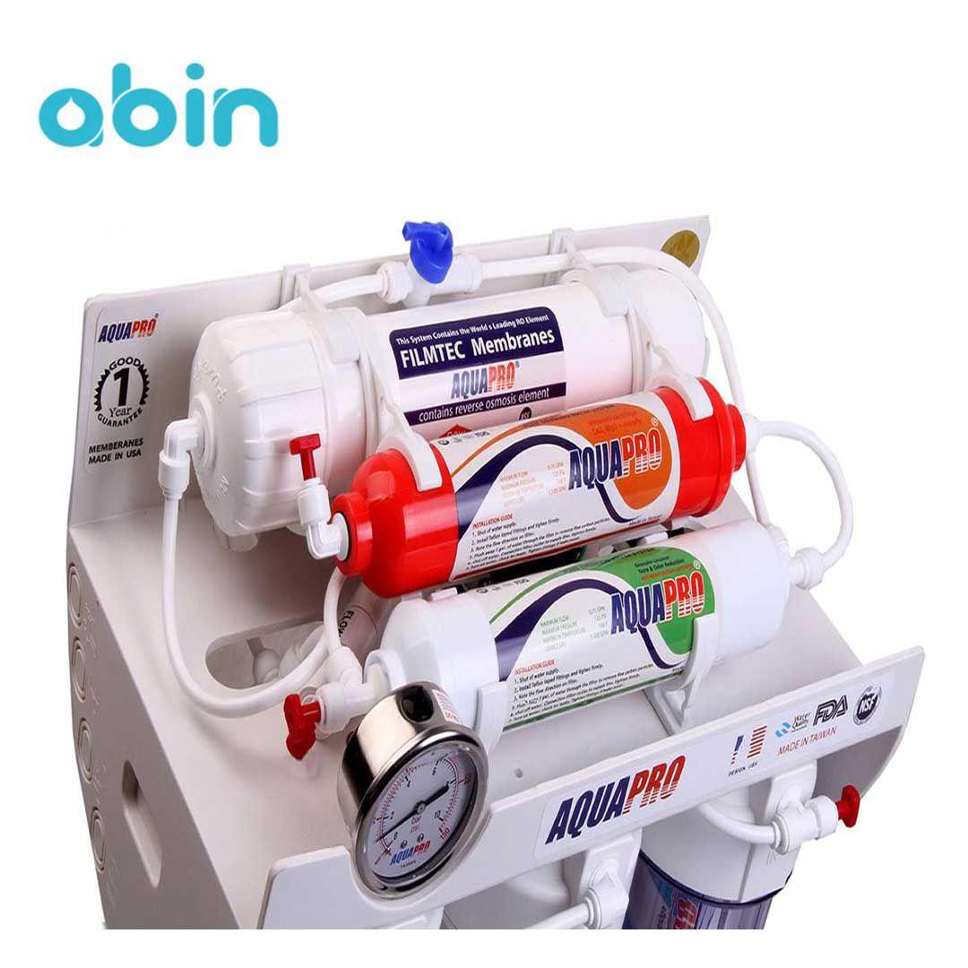 دستگاه تصفیه آب خانگی آکواپرو (Aqua Pro) مدل RO6- Fiberglass