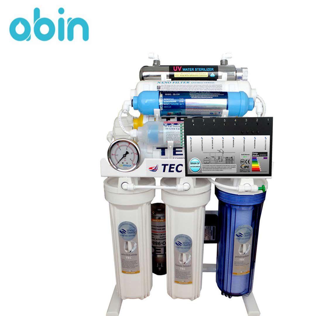 دستگاه تصفیه آب خانگی تک مدل RO-BRAIN–TNX2018