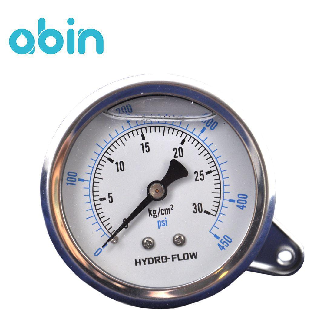 گیج فشار هیدرو فلو 450 PSI