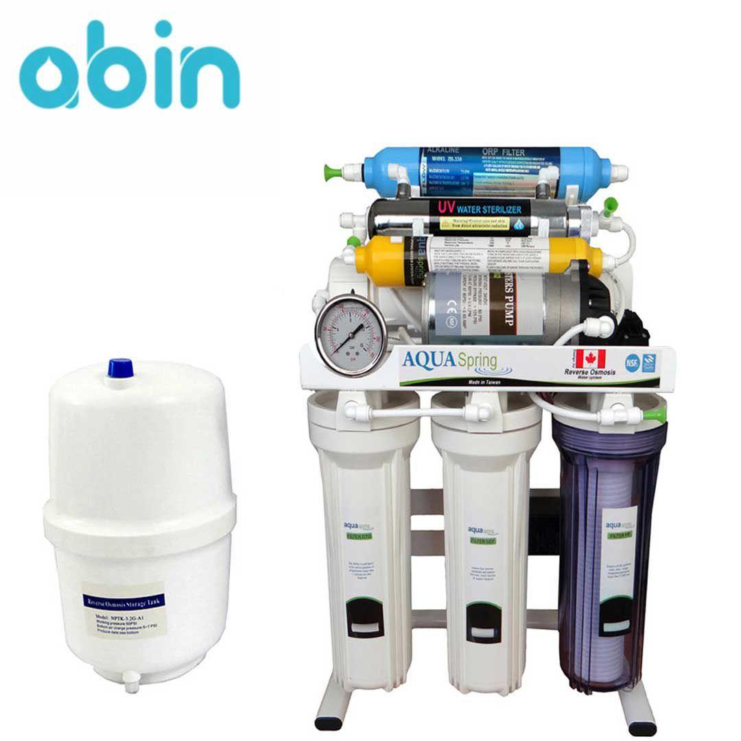 دستگاه تصفیه آب خانگی آکوا اسپرینگ (Aqua Spring) مدل RO-S200
