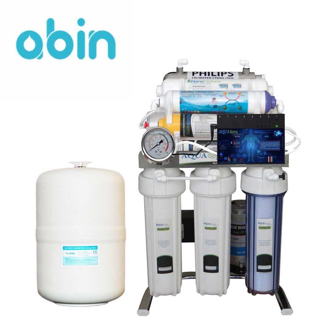 دستگاه تصفیه آب خانگی آکوا اسپرینگ(Aqua Spring)مدل CHROME-BXN10