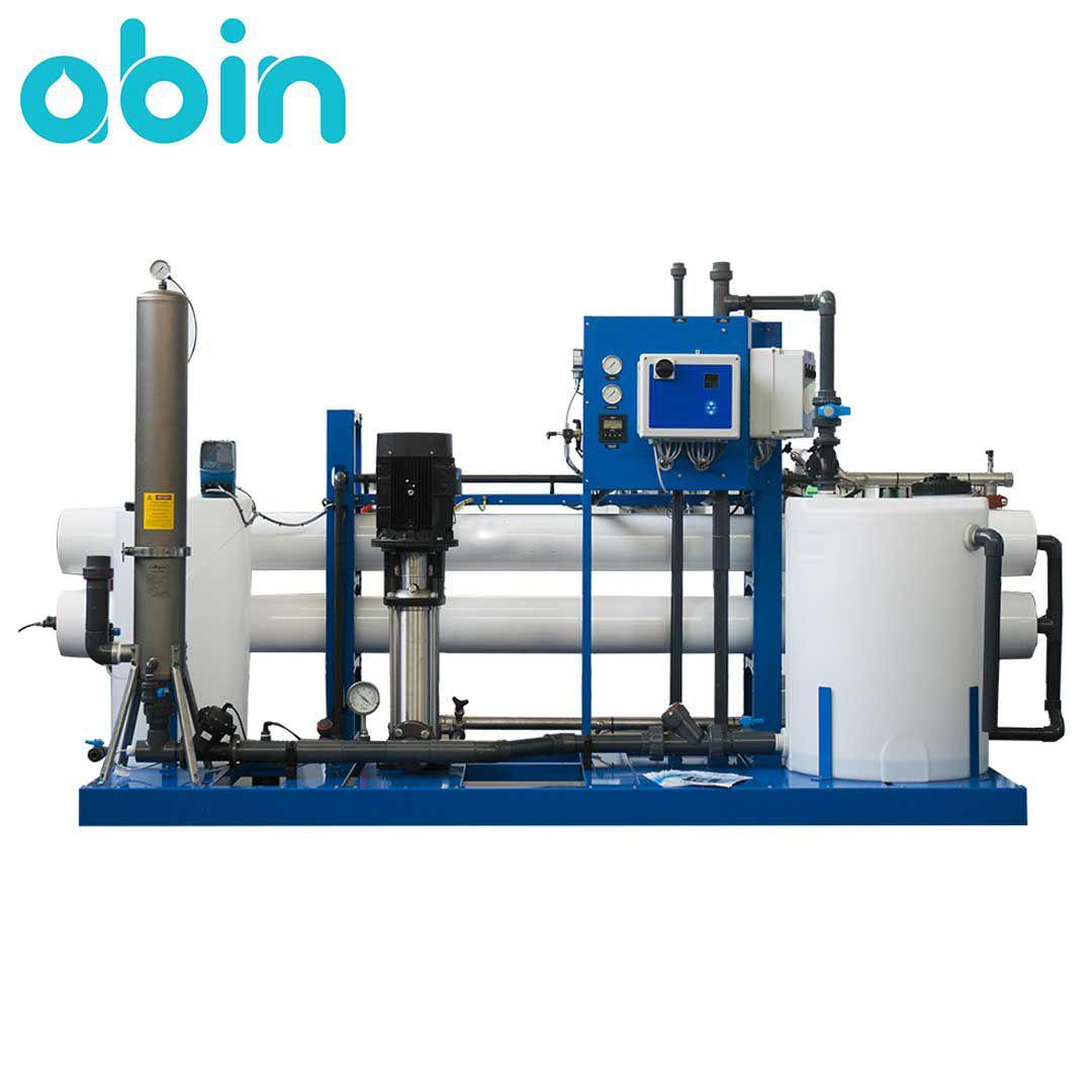دستگاه تصفیه آب صنعتی 100 متر مکعب