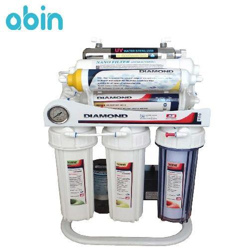 دستگاه تصفیه آب خانگی 10 مرحله ای دیاموند مدل RO-DRNX740
