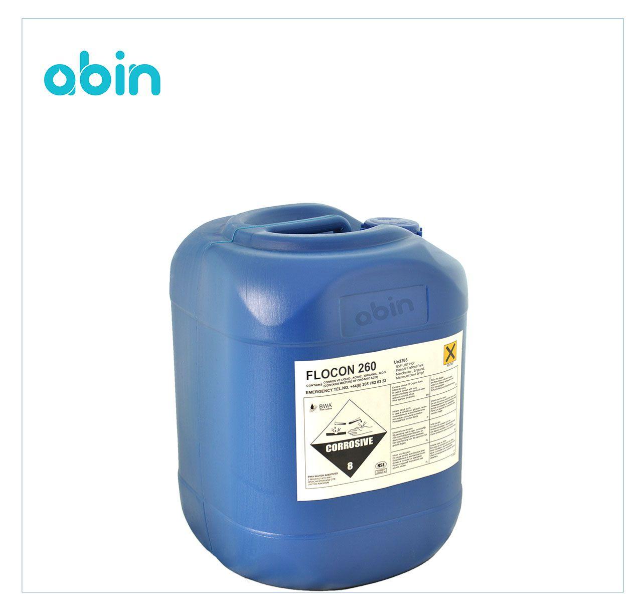 آنتی اسکالانت فلوکن 260- 20 کیلوگرمی (FLOCON)