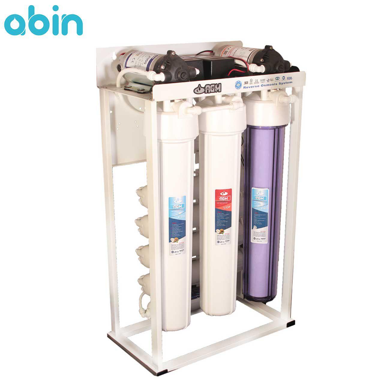 دستگاه تصفیه آب نیمه صنعتی 400 گالن ای جی ام (AGM)
