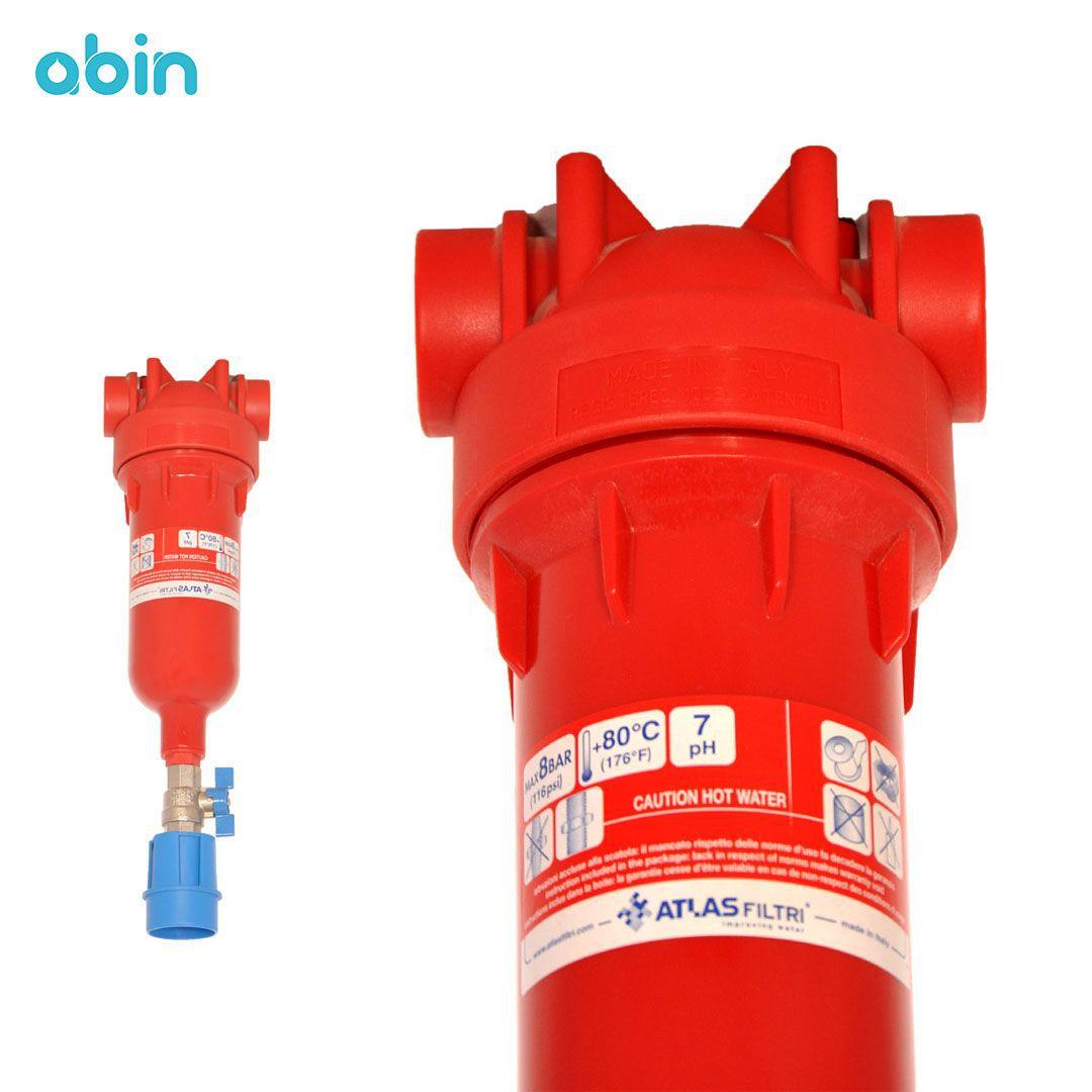 هوزینگ با فیلتر آب گرم اطلس فیلتری (ATLAS FILTRI) مدل هایدرا