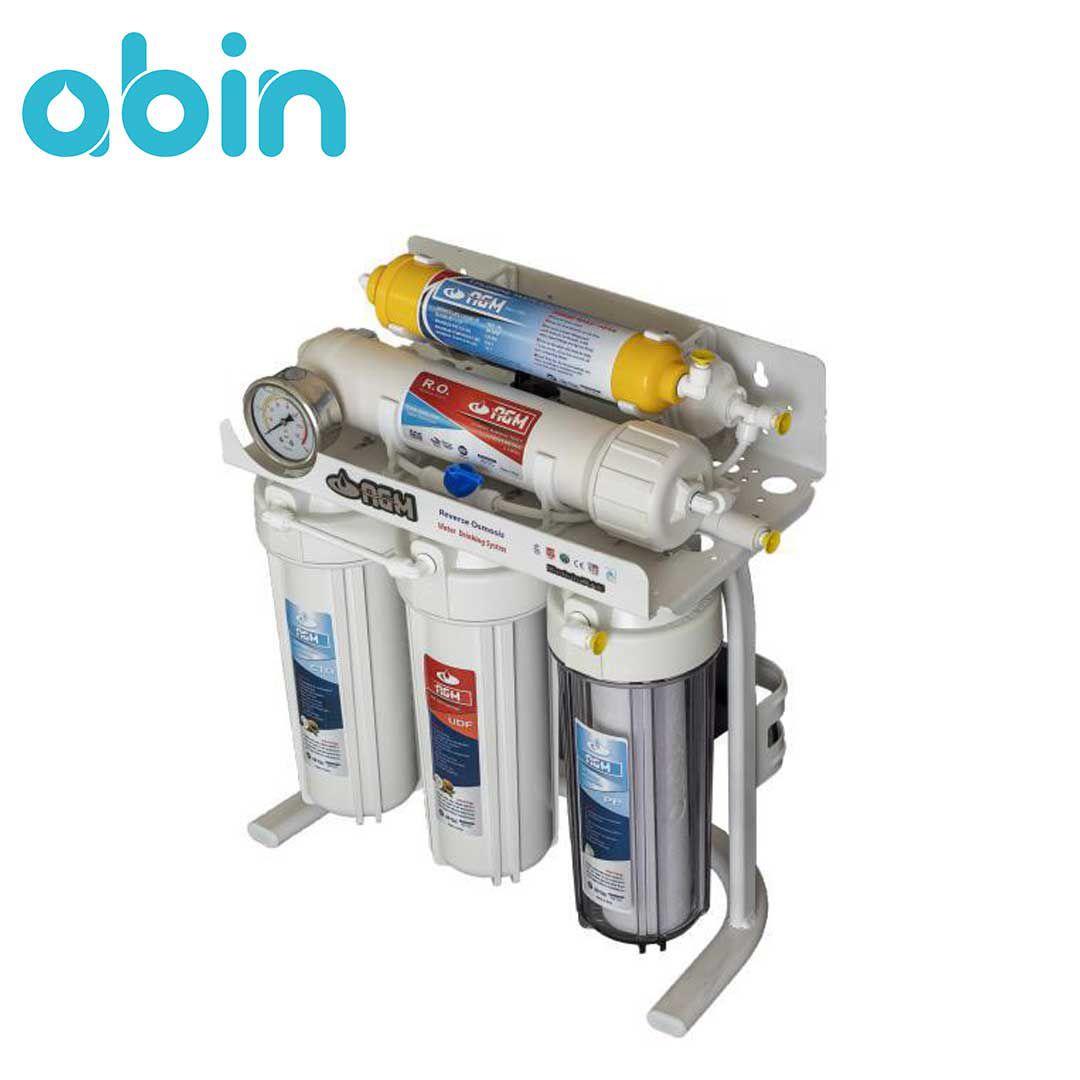 دستگاه تصفیه آب 6 مرحله ای AGM (قطعات تایوانی)