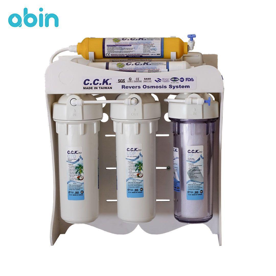 دستگاه تصفیه آب خانگی سی سی کا مدل پی وی سی ( CCK PVC)