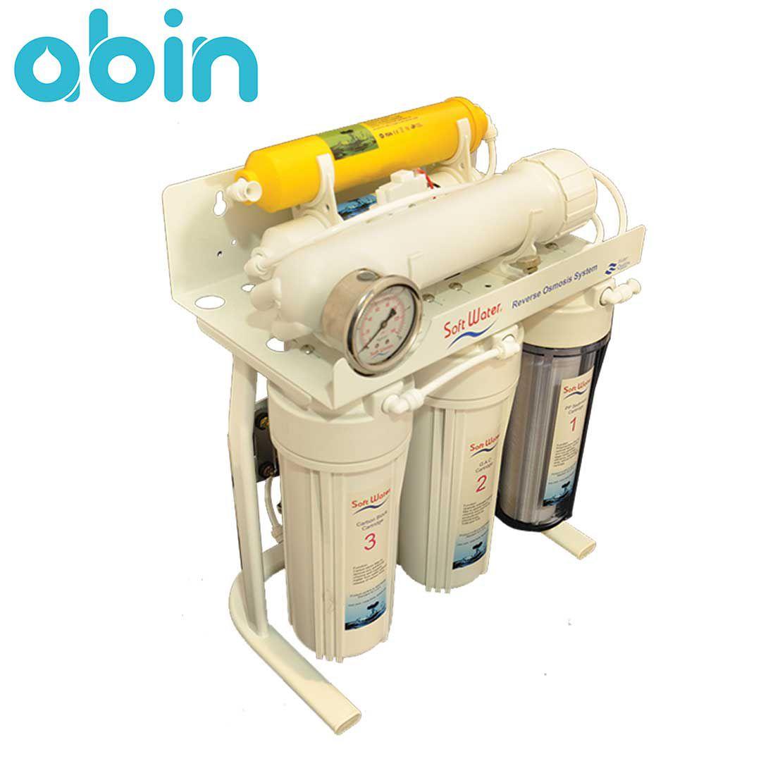 دستگاه تصفیه آب شش مرحله ای سافت واتر
