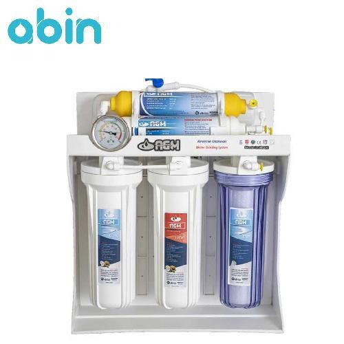 دستگاه تصفیه آب شش مرحله ای AGM با براکت PVC