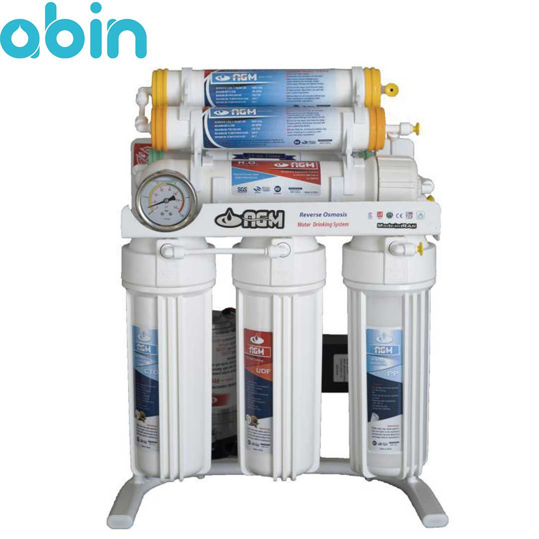 دستگاه تصفیه آب 7 مرحله ای AGM با فیلتر محافظ ممبران