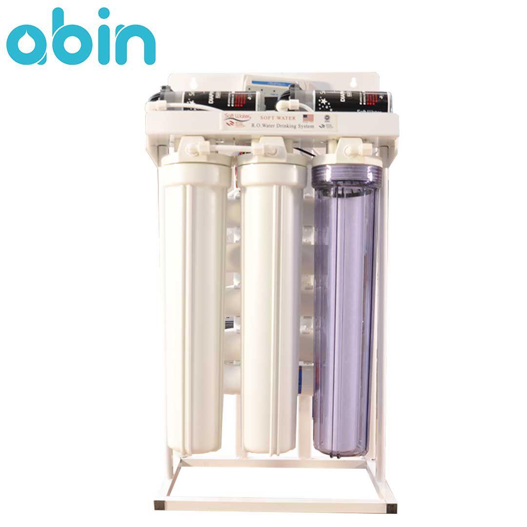 دستگاه تصفیه آب نیمه صنعتی 400 گالن سافت واتر (SOFT WATER)