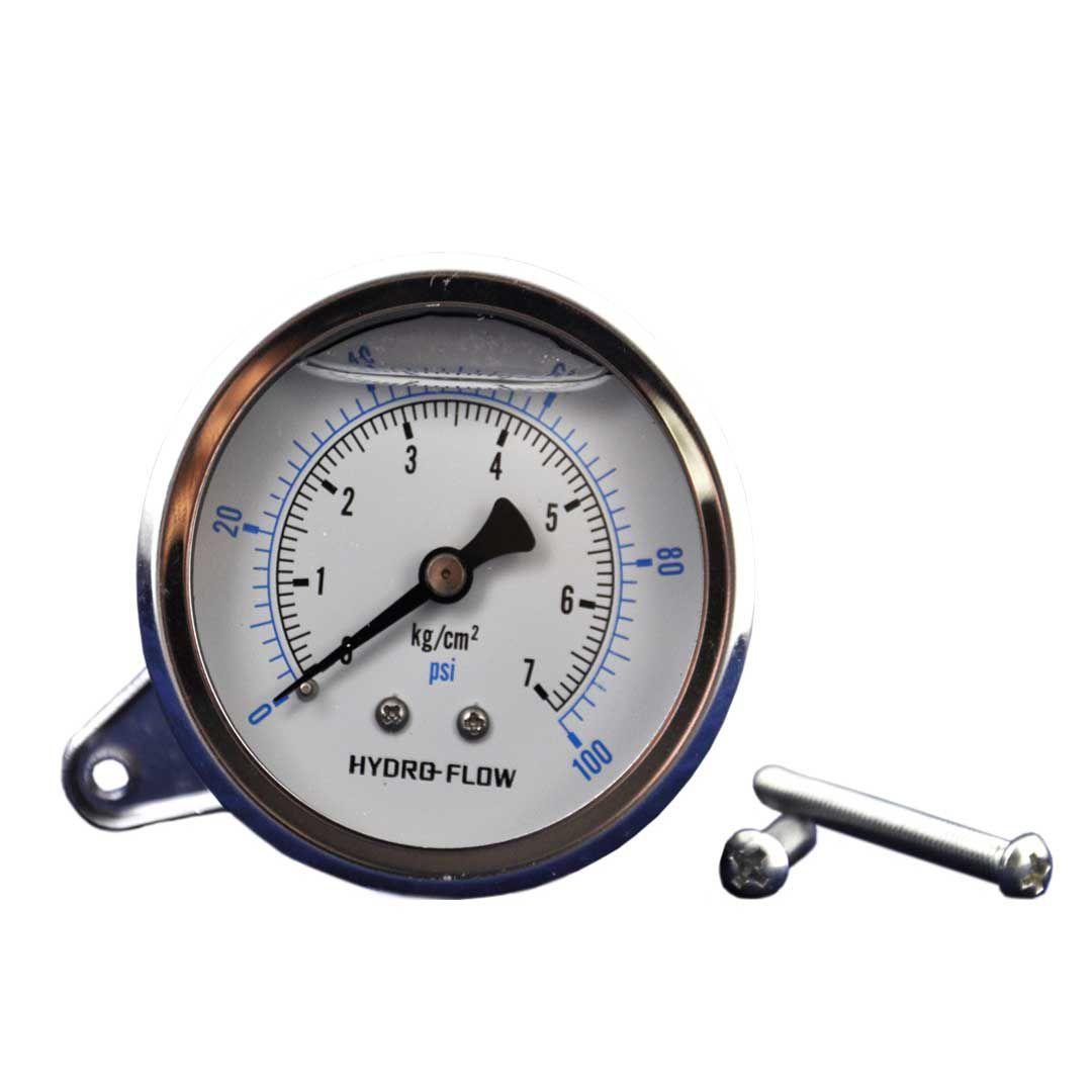 گیج فشار هیدرو فلو 100 PSI