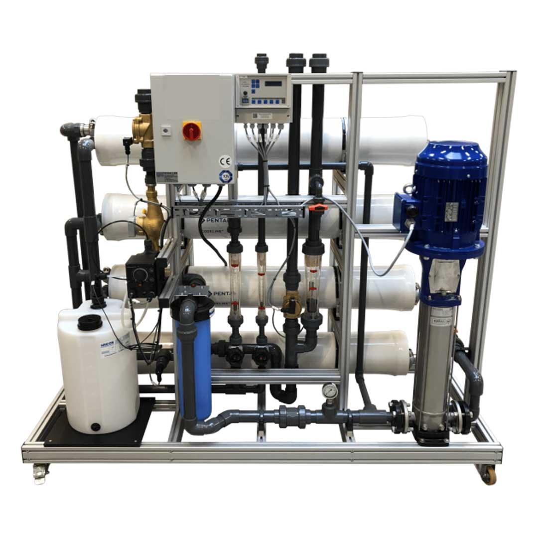 دستگاه تصفیه آب دریا| آب شیرین کن دریایی 2 متر مکعب