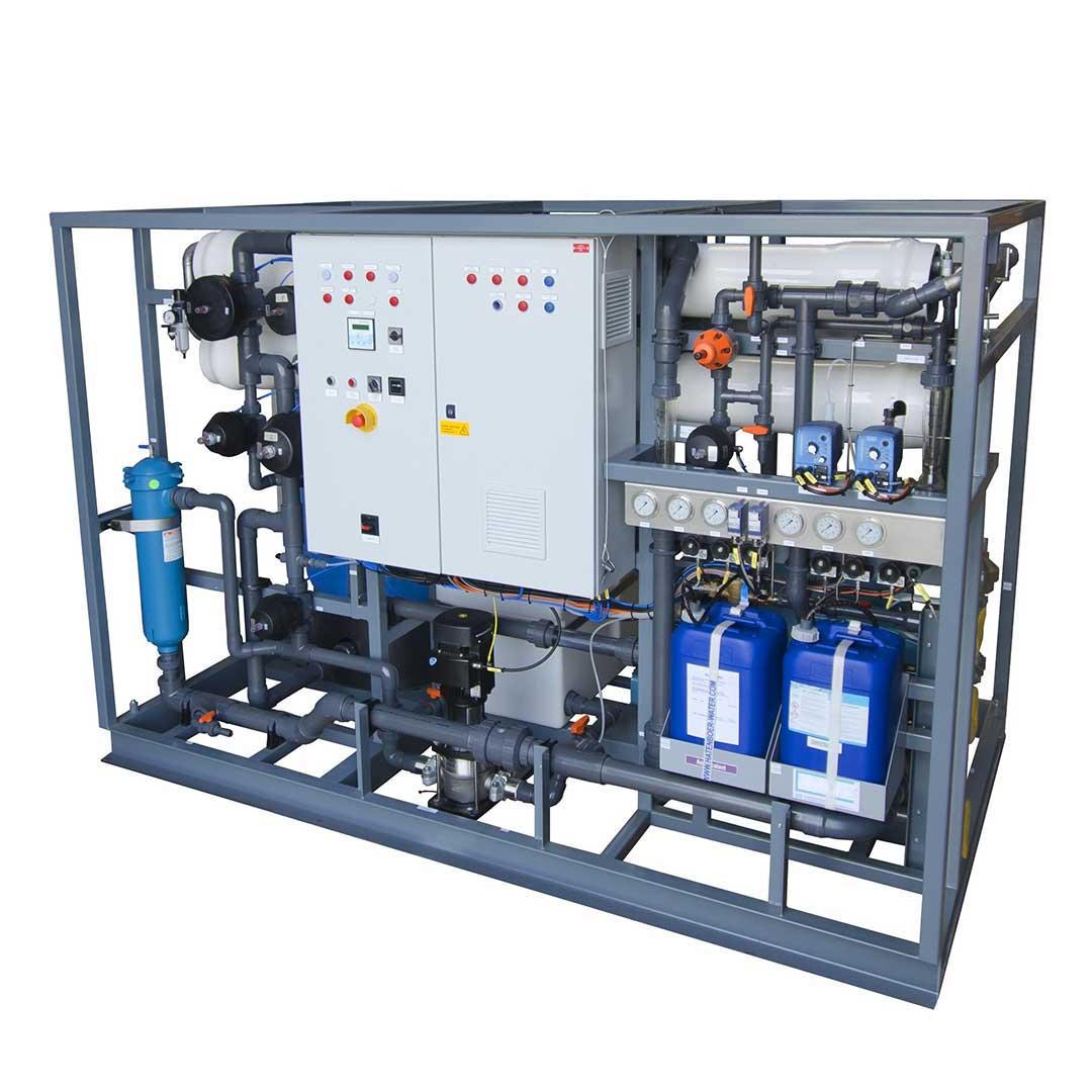 دستگاه تصفیه آب دریا| آب شیرین کن دریایی 30 متر مکعب