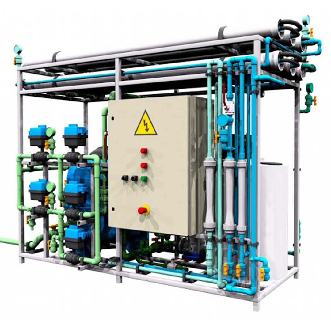 دستگاه تصفیه آب دریا| آب شیرین کن دریایی 50 متر مکعب
