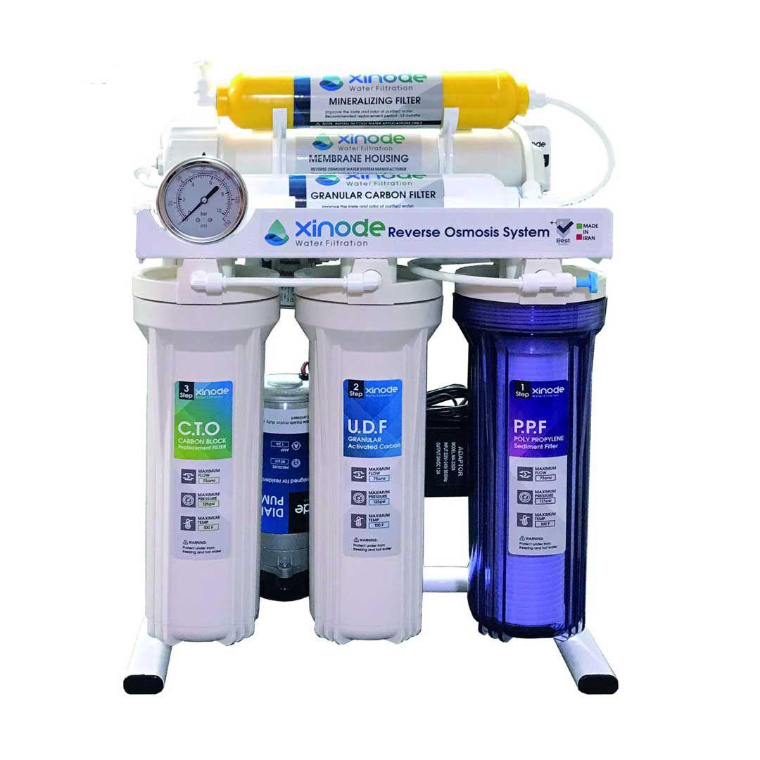 دستگاه تصفیه آب خانگی زینود (Xinode) مدل AXS-105HB