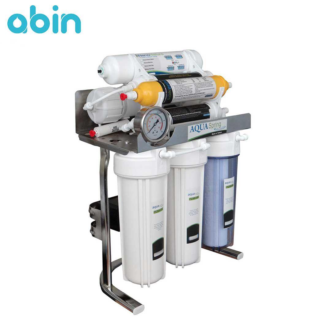 دستگاه تصفیه آب خانگی آکوا اسپرینگ (Aqua Spring) مدل CHROME-SN9