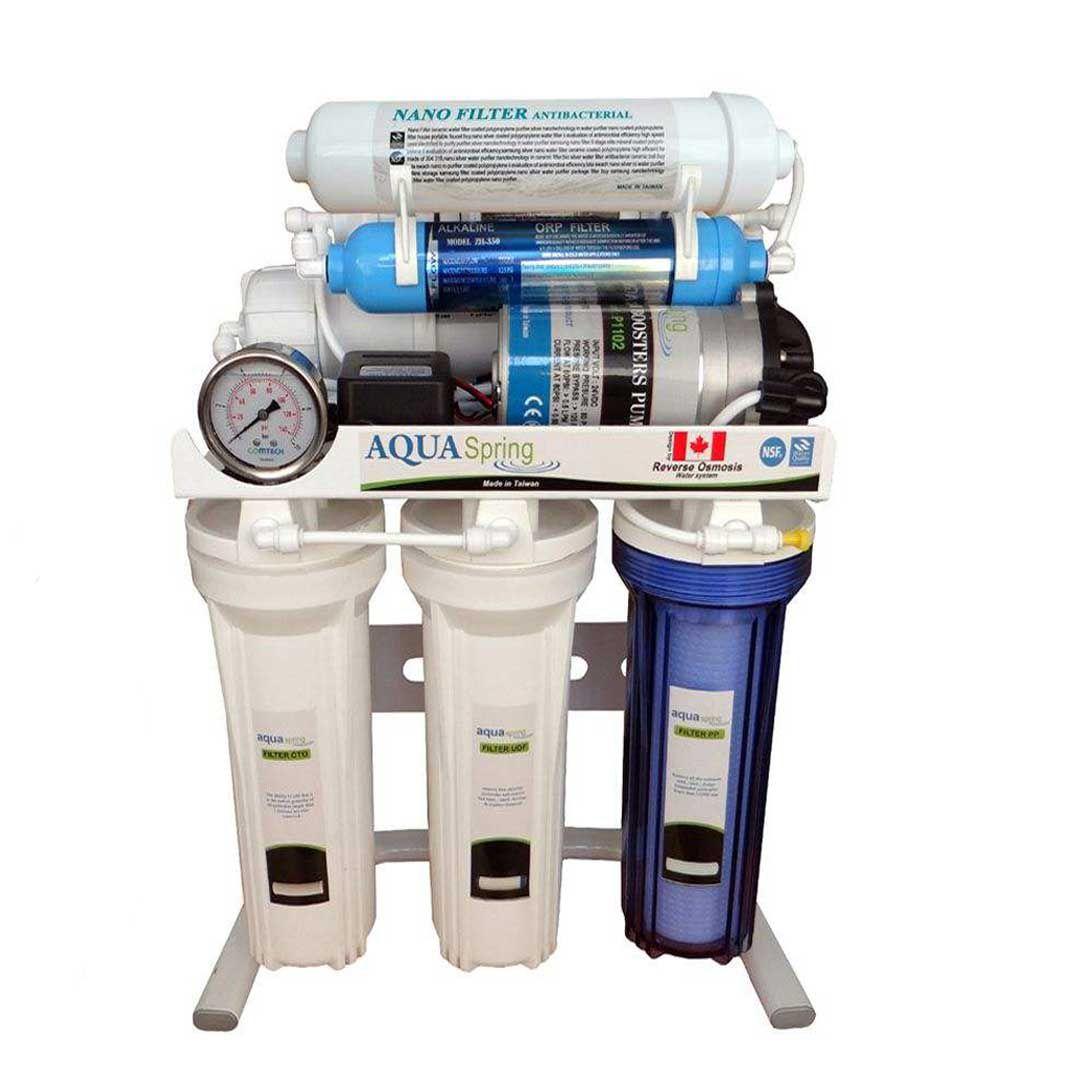 دستگاه تصفیه آب خانگی آکوا اسپرینگ (Aqua Spring) مدل RO-SN 2049