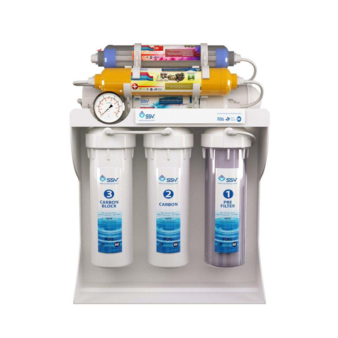 دستگاه تصفیه آب خانگیاس اس وی (SSV) مدل UltraPro-X800