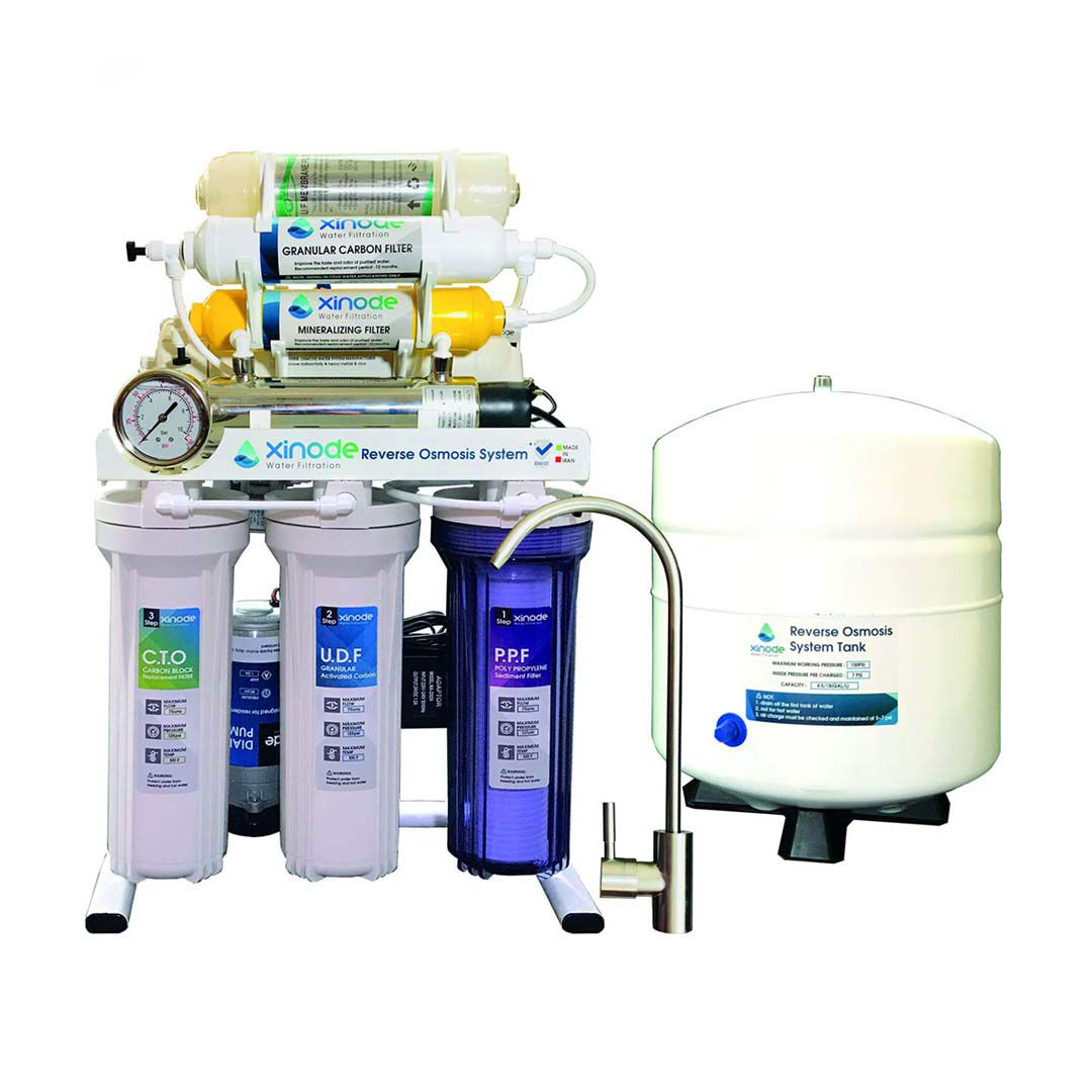 دستگاه تصفیه آب خانگی زینود (Xinode) مدل AXC-805HB