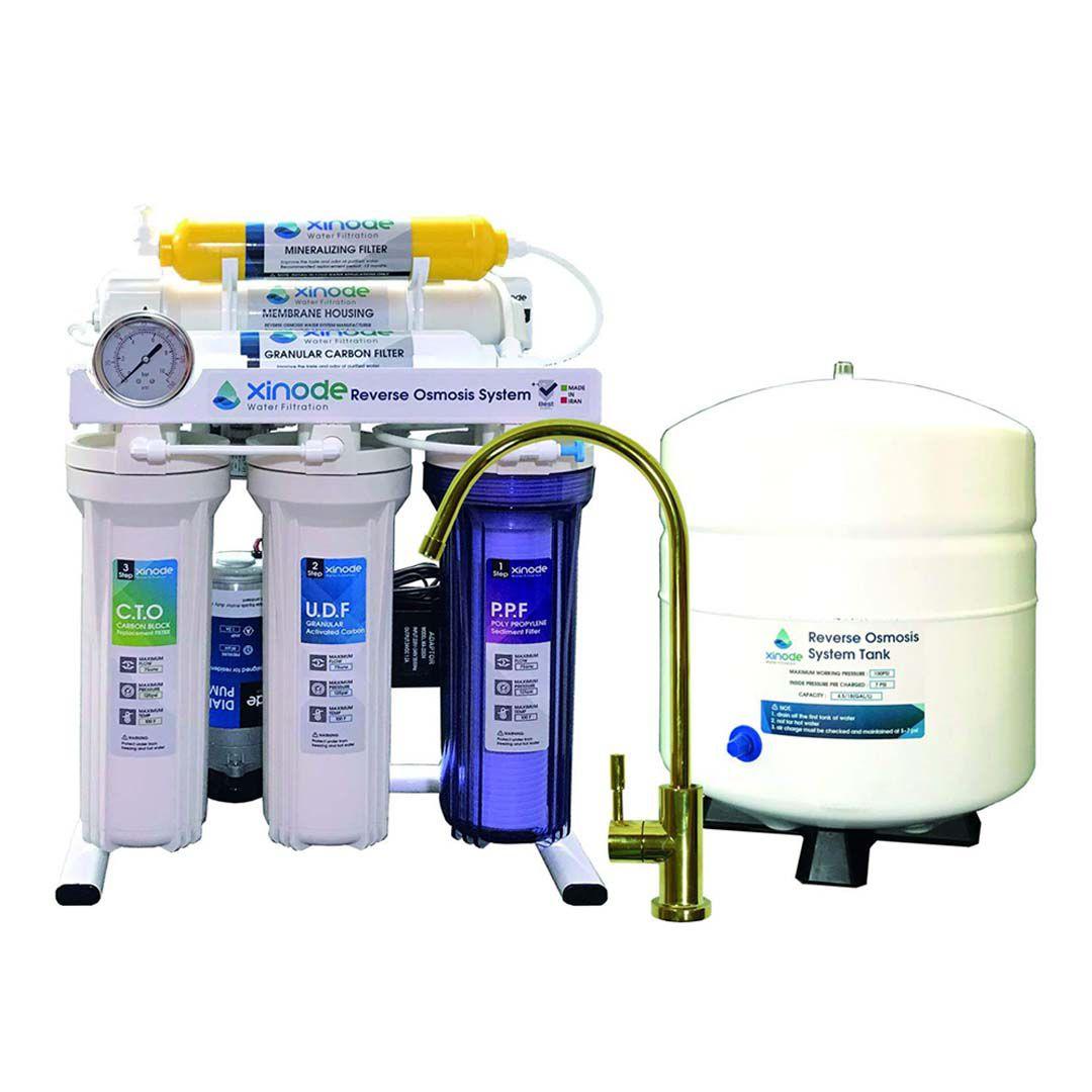 دستگاه تصفیه آب خانگی زینود (Xinode) مدل AXT-105HB