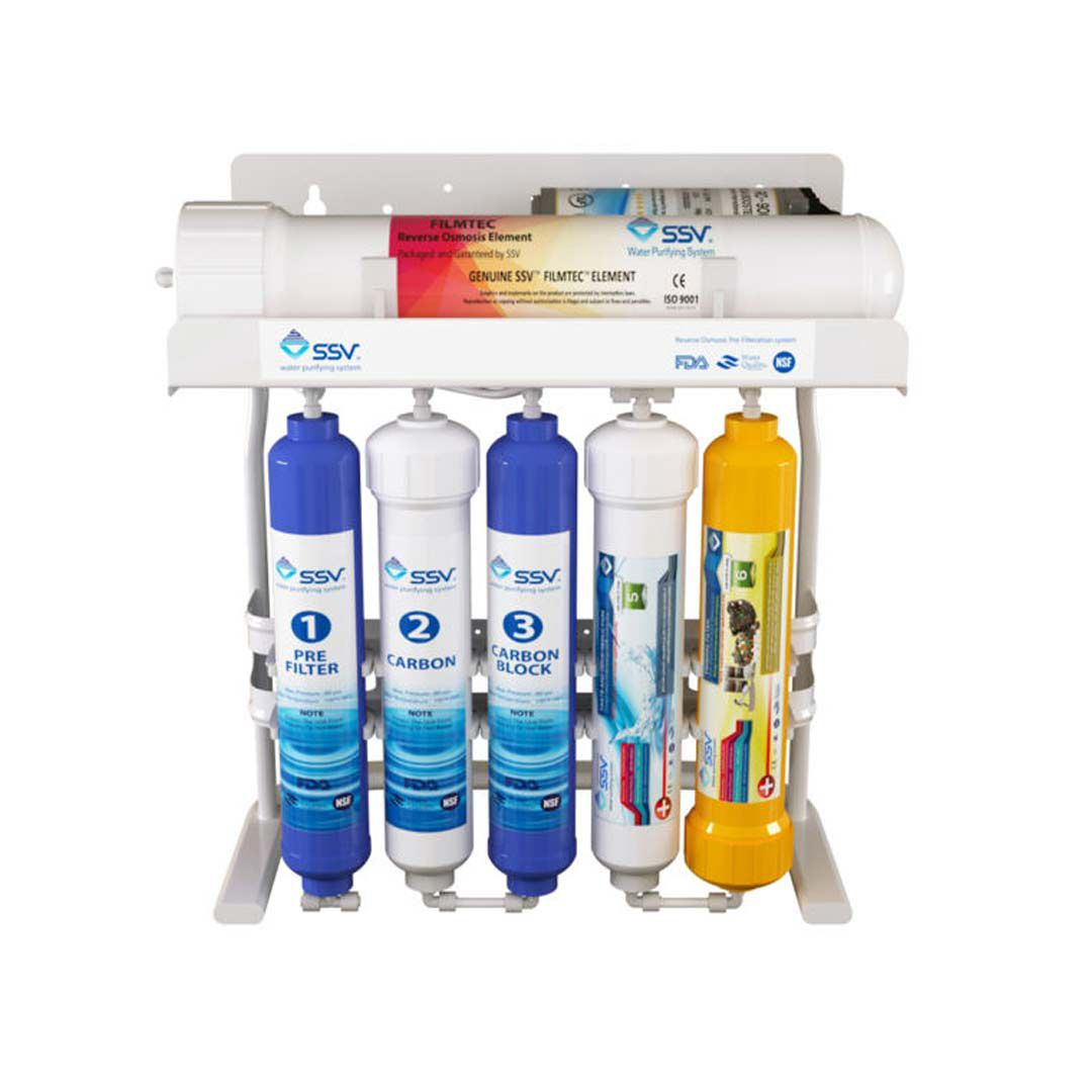 دستگاه تصفیه آب خانگی اس اس وی (SSV) مدل PureLine X600