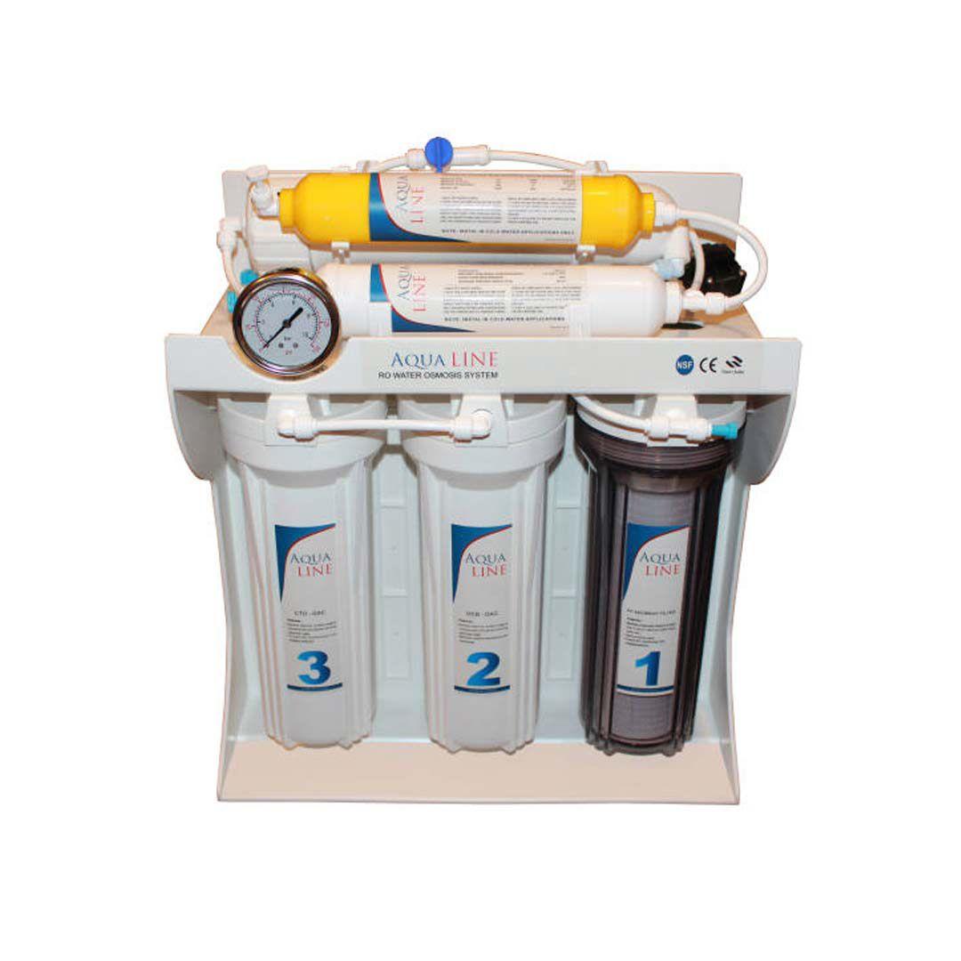 دستگاه تصفیه آب خانگی آکوا لاین (Aqua Line) مدل RO-LINE 600 Fiber