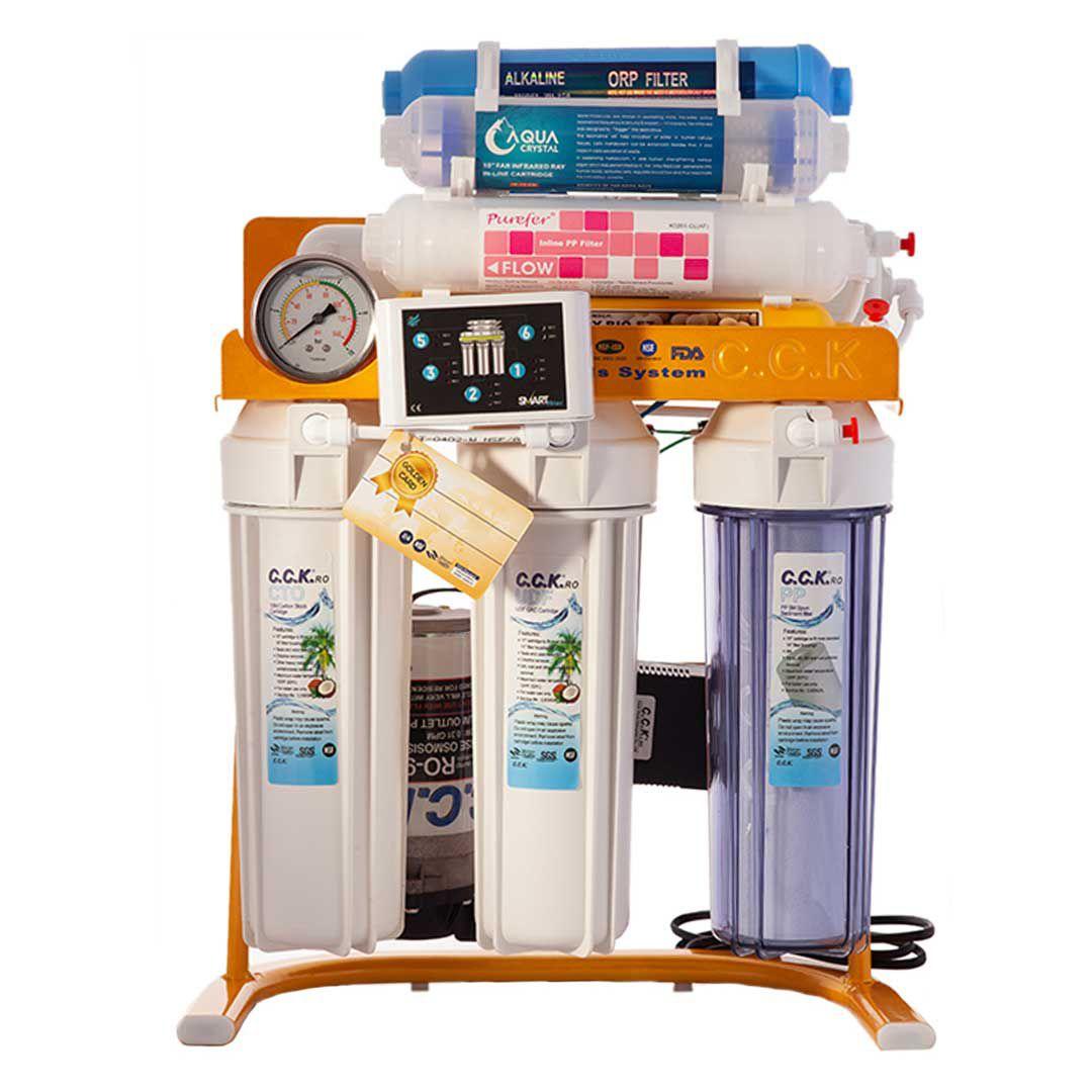 دستگاه تصفیه آب خانگی سی سی کا (CCK) مدل RO-GOLD 2020 PRO