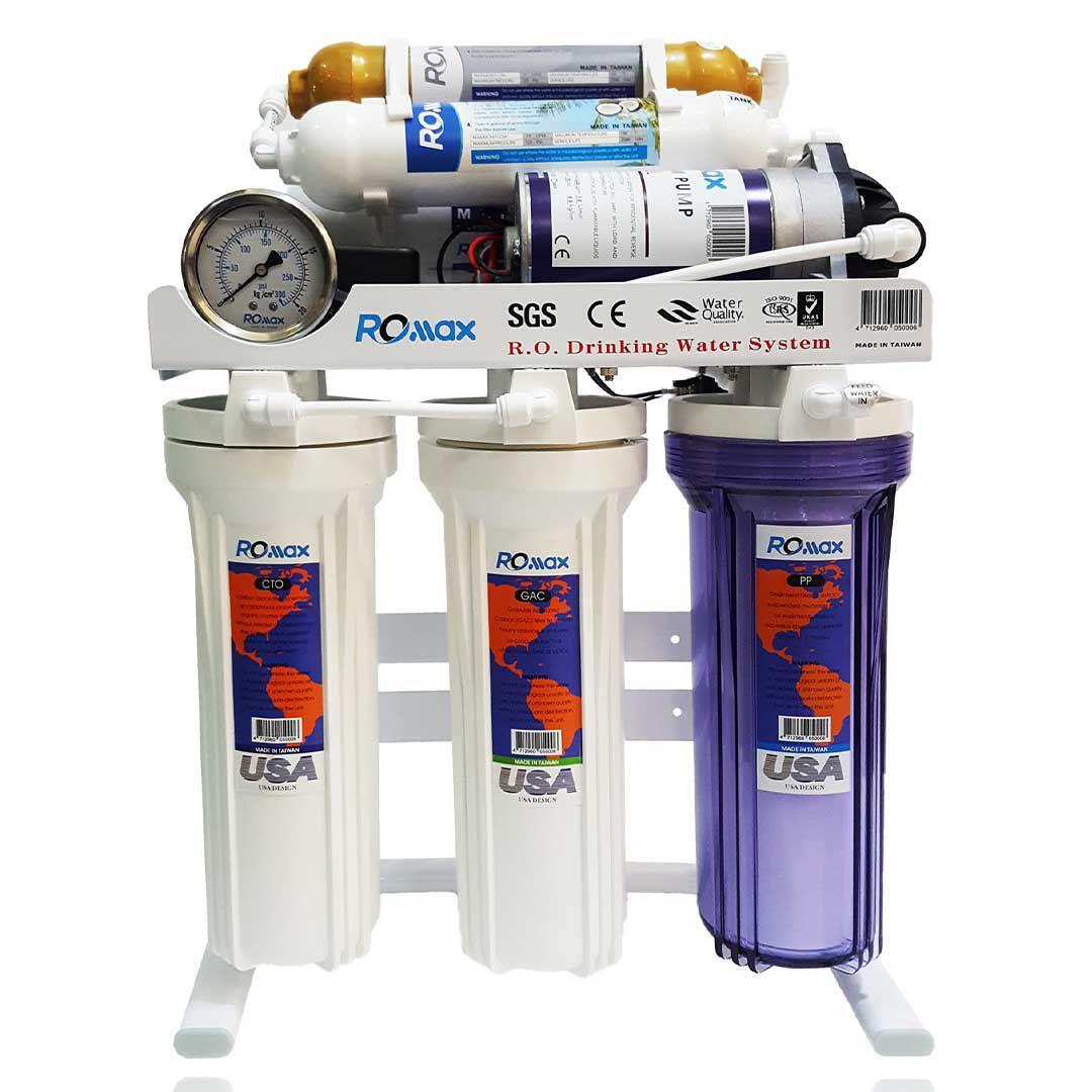 دستگاه تصفیه آب 6 مرحله ای آر او مکس ROMAX