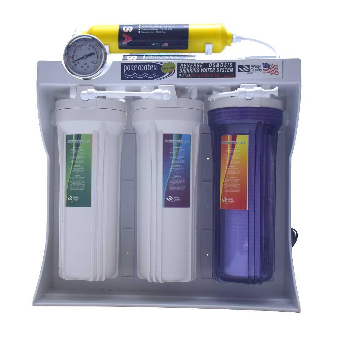 دستگاه تصفیه آب شش مرحله ای الکوثر