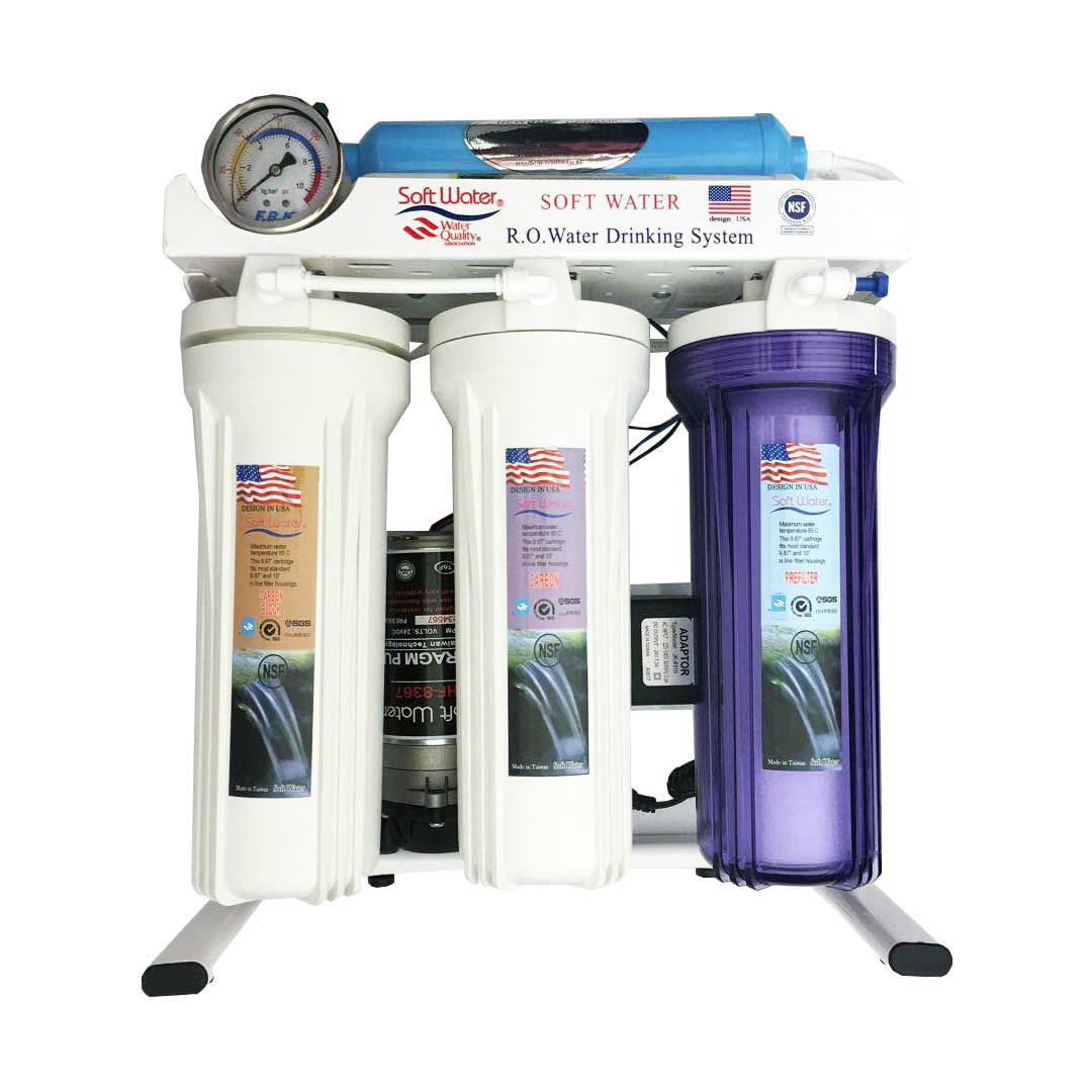 دستگاه تصفیه آب شش مرحله ای سافت واتر (Soft water)