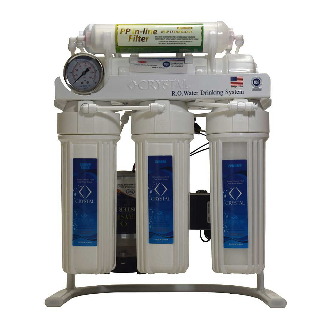 دستگاه تصفیه آب 7 مرحله ای کریستال