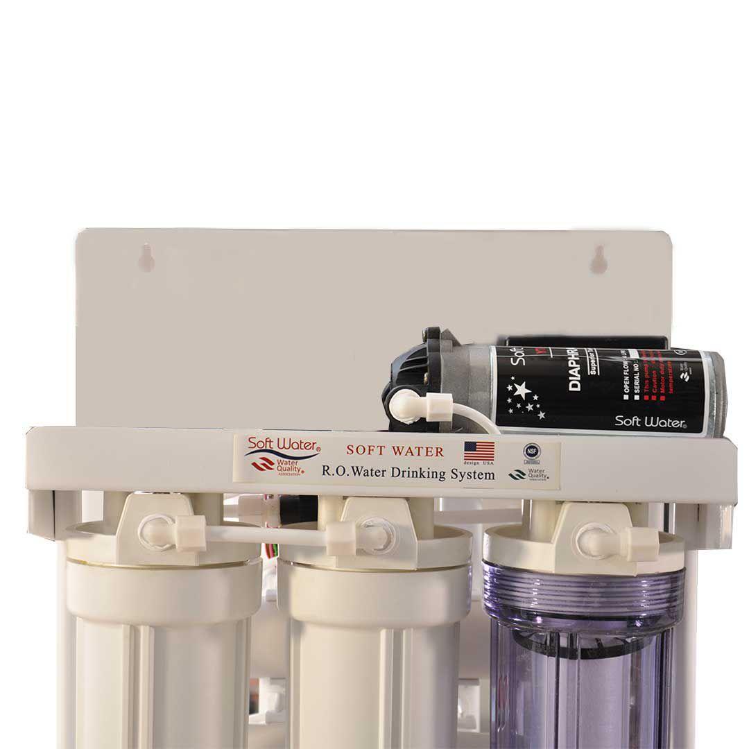 دستگاه تصفیه آب نیمه صنعتی سافت واتر 200 گالن