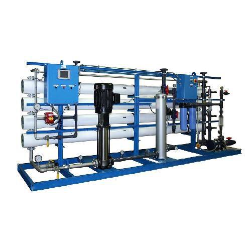 دستگاه تصفیه آب صنعتی با ظرفیت 750 متر مکعب